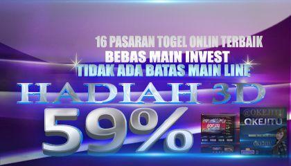 Situs Resmi Bandar Togel Aman Terpercaya,Menyediakan Togel Online Resmi 16 Pasaran.Keamanan Terjamin 100%.