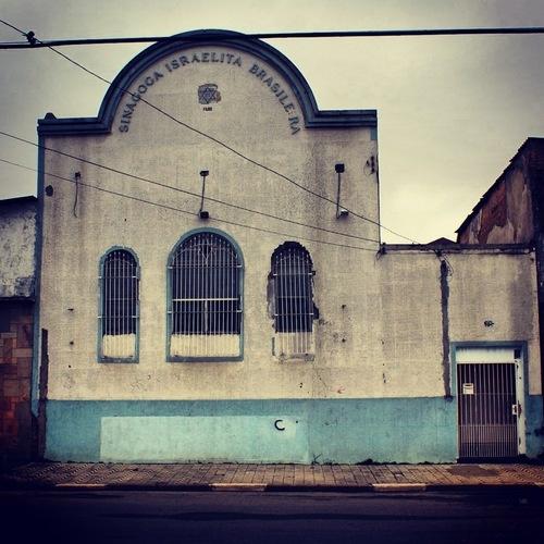 Old sinagogue at Odorico Mendes Street, Mooca (Sao Paulo / Brazil)