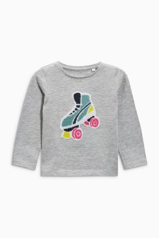 Buy Roller Skate Long Sleeve T-Shirts Three Pack (3mths-6yrs) from the Next UK online shop