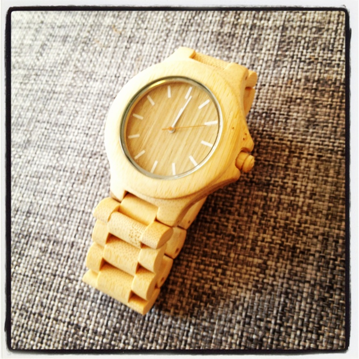 The Bamboo Watch - Bolia Lifestyle Collection.