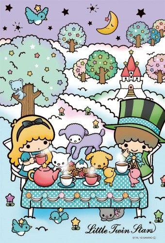【2013】【Alice in Wonderland】Puzzle (108 Pieces) (¥630) ★Little Twin Stars★