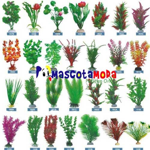 105 best decoraciones para acuario images on pinterest - Decoracion plantas artificiales ...