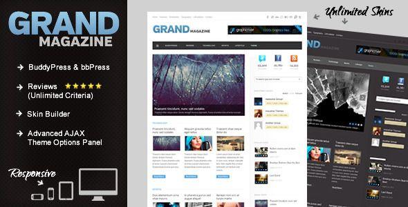 47 best Wordpress themes images on Pinterest | Wordpress template ...
