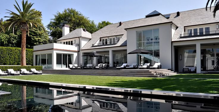 Simon Cowell's Exquisite Beverly Hills Mansion Dream homes, luxury mansions, celebrity homes, ultimate kitchen and bathroom ideas on your computer, IOS and Android