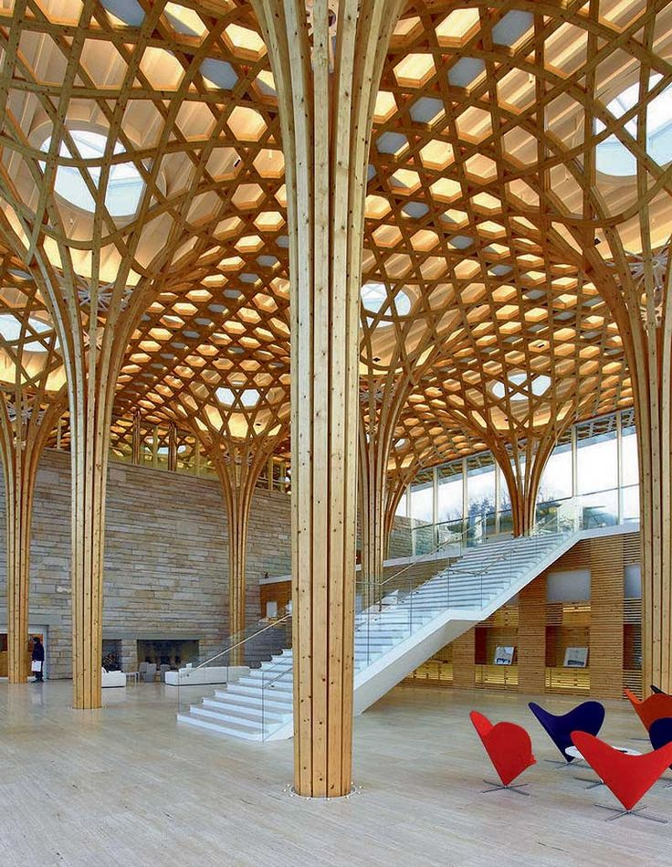 M s de 25 ideas incre bles sobre estructuras de madera - Estructura madera laminada ...