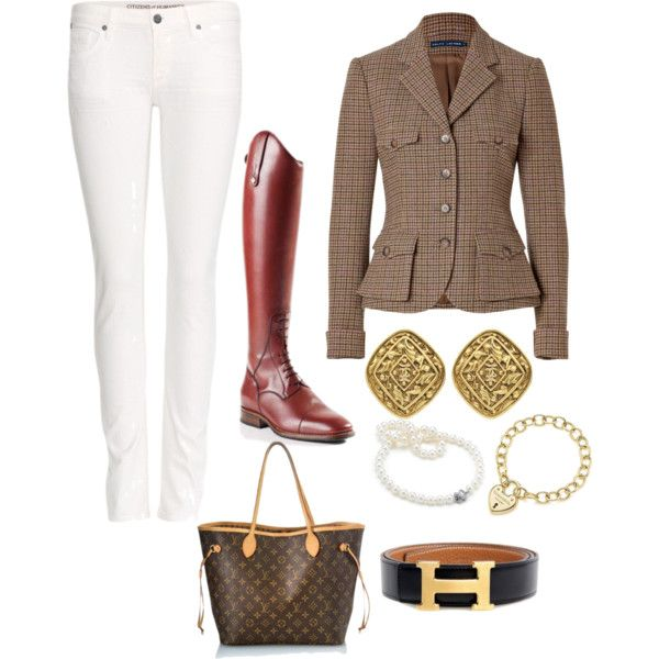"""Fall Equestrian Chic"" by misshoofbeats on Polyvore"