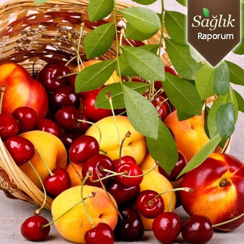 Yaz meyveleri birçok derde deva!
