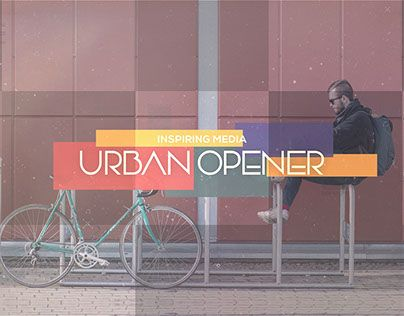 "Check out new work on my @Behance portfolio: ""Urban Inspiring Media Opener"" http://be.net/gallery/54320021/Urban-Inspiring-Media-Opener"