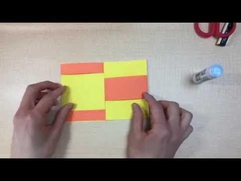【工作】画用紙で簡単!手品カード - YouTube
