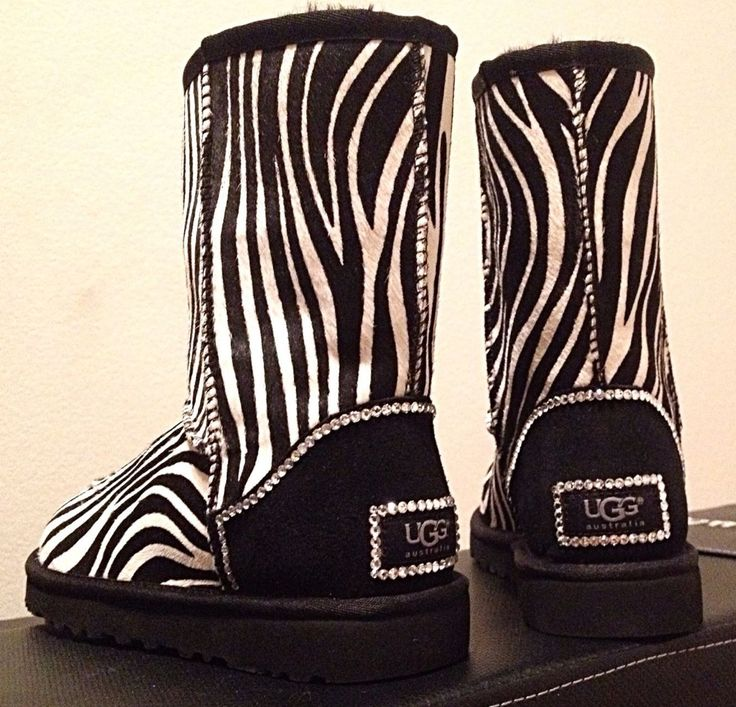 LOVE it #UGG #fashion This is my dream ugg boots-fashion ugg boots!!- luxury ugg boots. Click pics for best price ♥http://ZebraPrintStuff.com