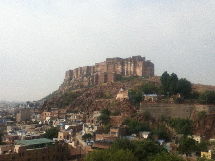 Jodphur with its Amazing castle overlooking the city. Life is too short not to travel. #wanderlust #India
