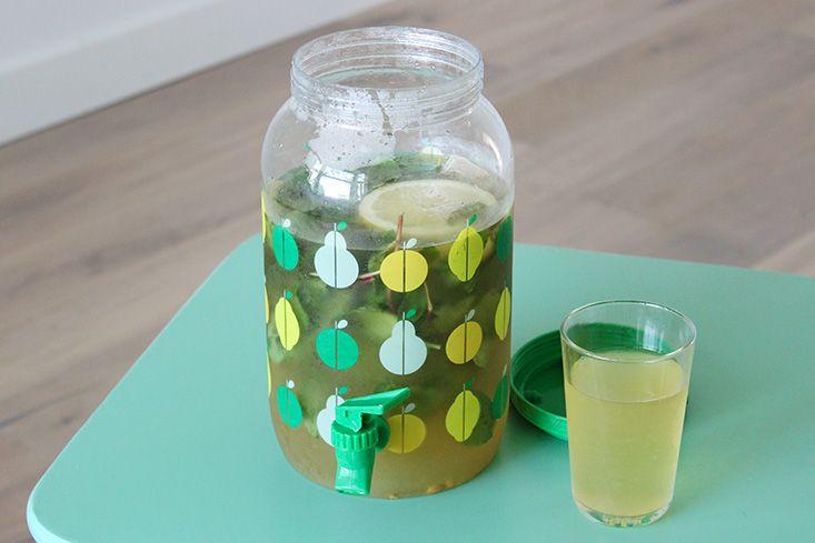 Infusion Glacée Citron-Menthe « Mango and Salt