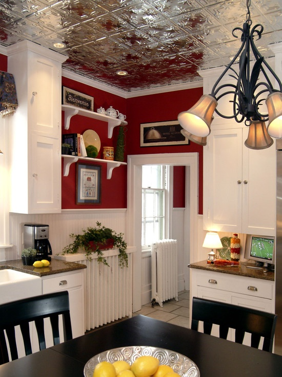 Spaces Tin Ceilings Design, Pictures, Remodel, Decor And Ideas   Page 23