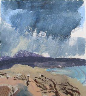 'Cheviot from Lindisfarne' by Brita Granström
