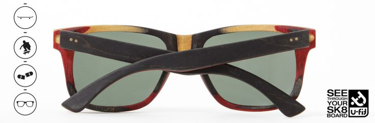 skate sunglasses by U-FIT