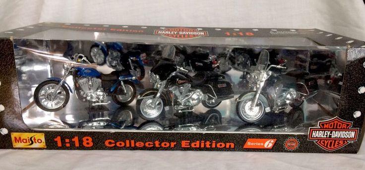 Maisto 1:18 Collector Edition Series 6 Motor Harley Davidson Cycles Die Cast  #Maisto