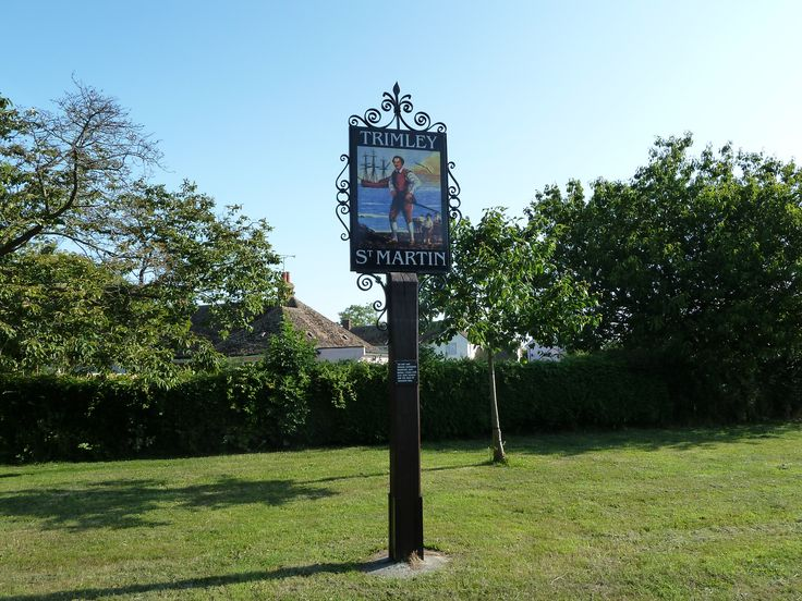 Village sign, Trimley St. Martin