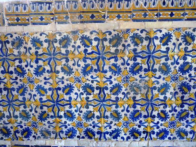 Olinda | Convento de / Convent of São Francisco | padrão do século XVII / pattern of the 17th century #Azulejo #Padrão #Pattern #Brasil #Brazil
