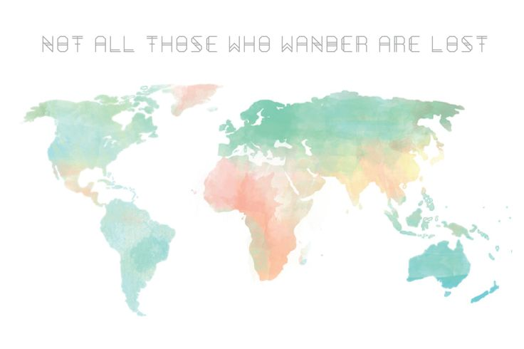 Not All Those Who Wander Are Lost Tattoo Wrist