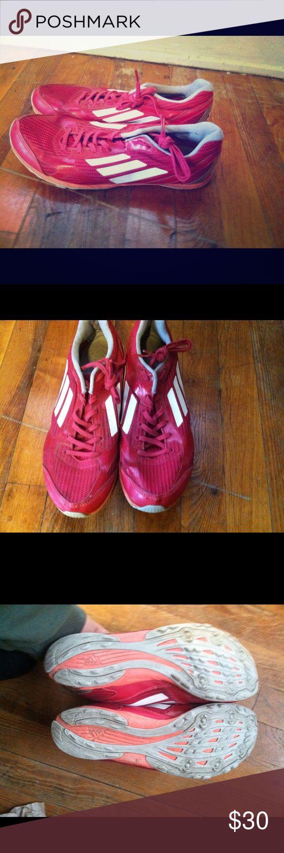Adidas Adizero Racing Flats - DONATING SOON Lightly worn running shoes. Lightweight, mesh upper, neutral running shoe. Adidas Shoes Athletic Shoes