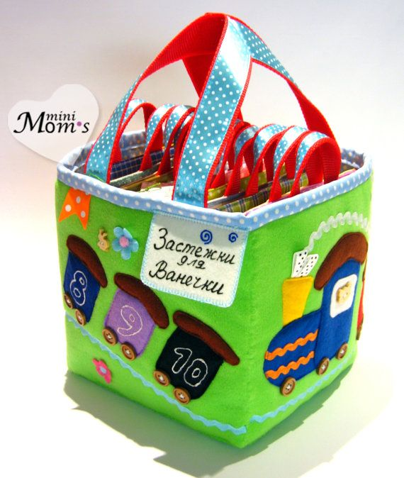 A big developing toy set of tablets 12m /Quiet Book от MiniMoms, $300.00