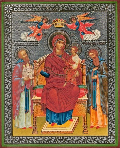 """Icon of the Mother of God """"Economissa"""