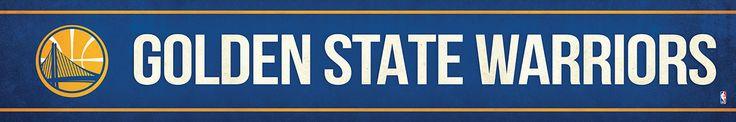 Golden State Warriors Street Banner $19.99