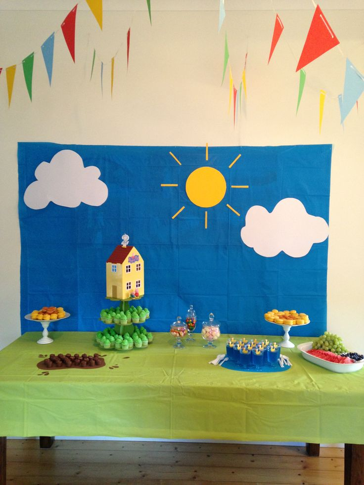 Peppa Pig themed party!