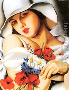 High Summer, 1928  by Tamara de Lempicka (inspired by)