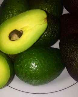 Avocado full if vitamins and great for collagen production; we use it in our Avocado and Cape Rose Geranium body butter as well as our Avocado Moisturising Lotion bar.