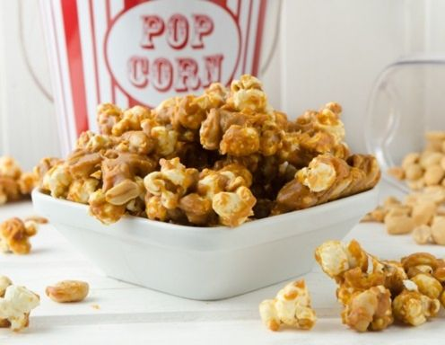 ber ideen zu popcorn rezept auf pinterest. Black Bedroom Furniture Sets. Home Design Ideas