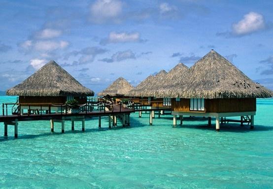 Bora-Bora, someday I would love to go here.