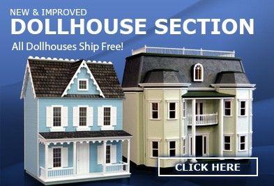 Dollhouse Furniture, Dollhouses Miniatures, Miniature Furniture, Dollhouse Accessories Supplies - Superior Dollhouse Miniatures