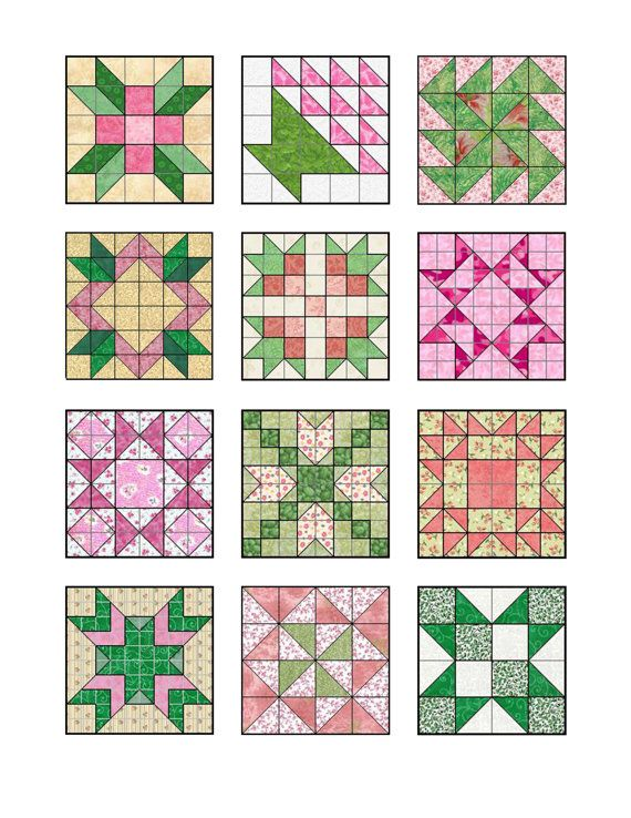 Make treats with quilt block edible icing images