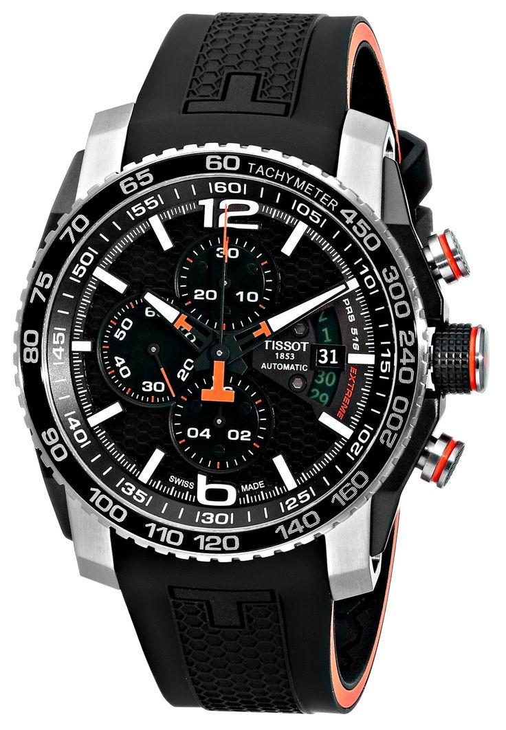 Tissot Men's T0794272705700 PRS 516 Analog Display Swiss Automatic Black Watch: Tissot: Watches