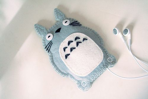 totoro iphone/ipod case