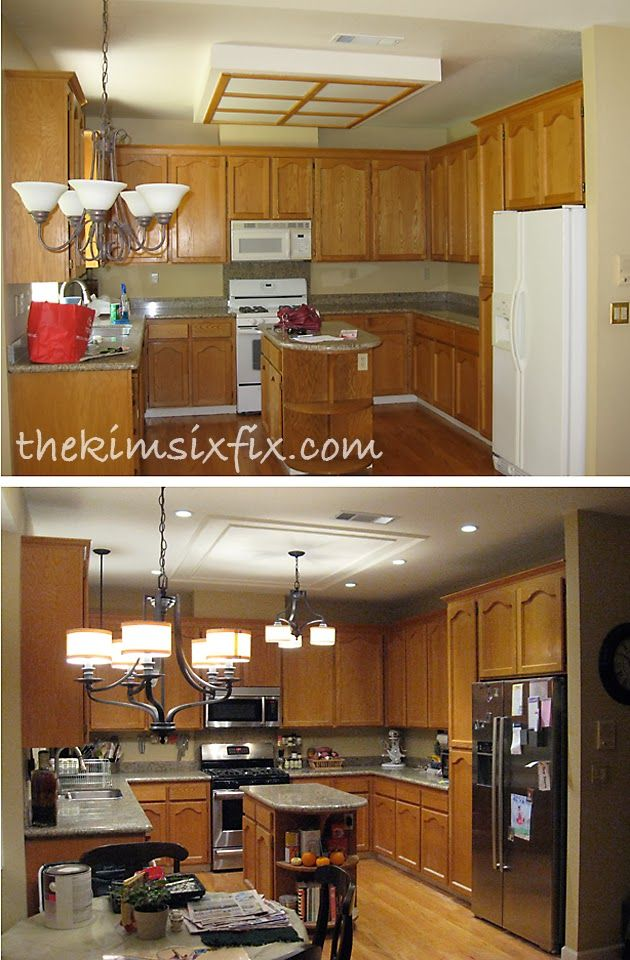 Removing a fluorescent kitchen light box patti d - How to remove bathroom light fixture cover ...