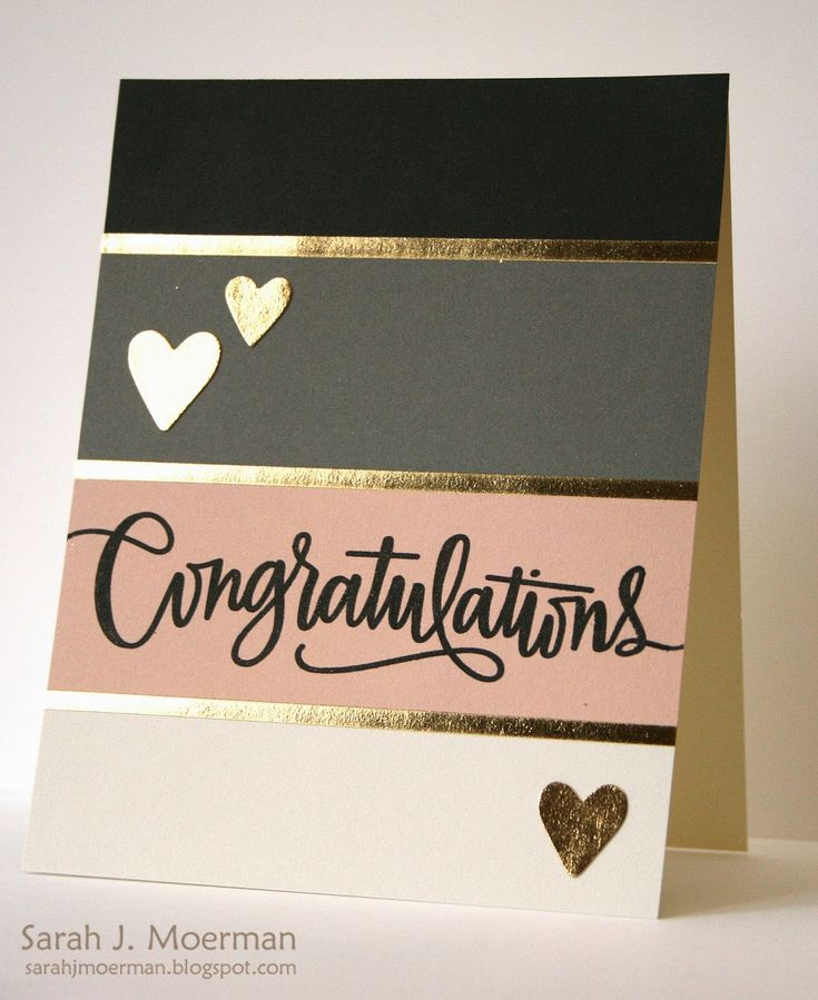 My Impressions: Congratulations (and Simon Says Stamp Card Kit Giveaway!)