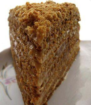 Medová marlenka s přesným fotopostupom. Neuvěřitelně chutná, sladká, jemná - no prostě mňam!