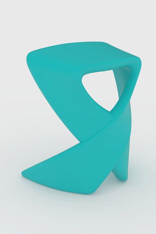 Ribbon Stool By Raw Studio