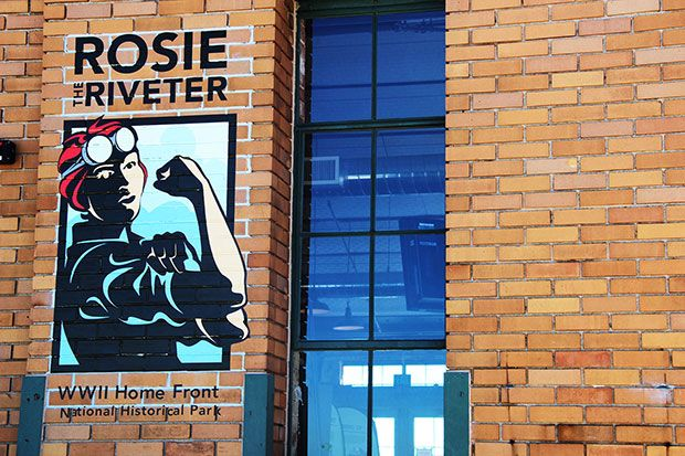 rosie the riveter museum | The Visitor Education Center at the Rosie the Riveter/WWII Home Front ...