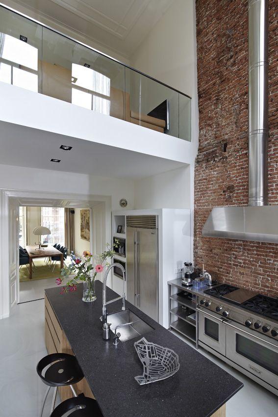 Keuken Renovatie Amsterdam : Keuken op Pinterest – Herenhuizen, Jaren '20 Keuken en Kb Huizen
