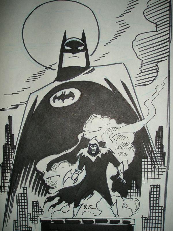 Bruce Timm - Batman ; Mask of Phantasm, in Aleksandar Dordevski's Bruce Timm Comic Art Gallery Room - 352844