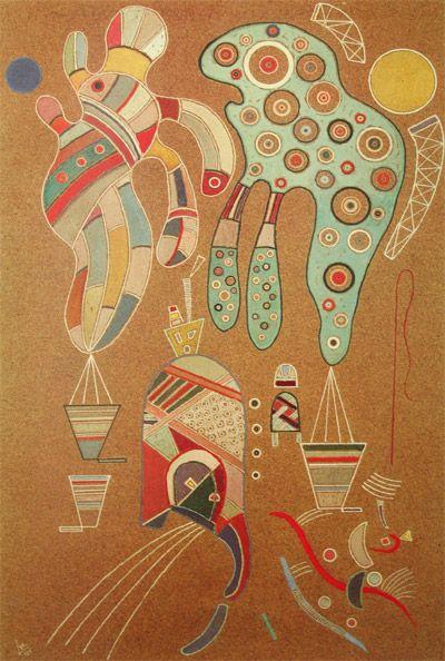 "Wassily Kandinsky - ""Untitled"". 1941"
