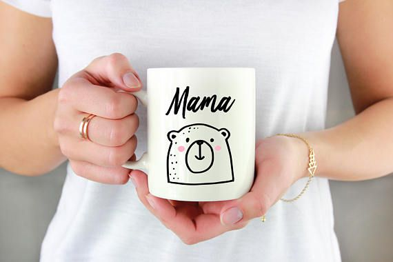Mama bear Mother's day gift new parent gift expecting