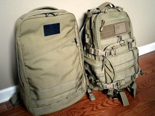 GoRuck GR1 and TAD Gear Fast Pack EDC | Loaded Pocketz