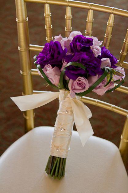 Bouquet ton violet
