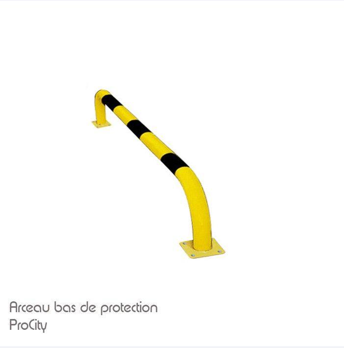 Arceau bas de protection, Acier laqué sur galva, L 100, H 30 cm, Design ProCity