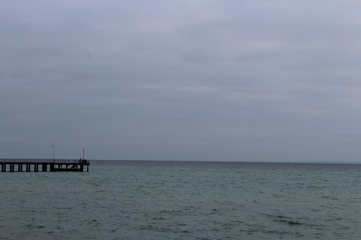 L1M1AP3 Auto Mode, No Flash, ISO 180  Rule of 3rds- Taken from the beach at Dromana, Mornington Peninsula. Very overcast day and raining.