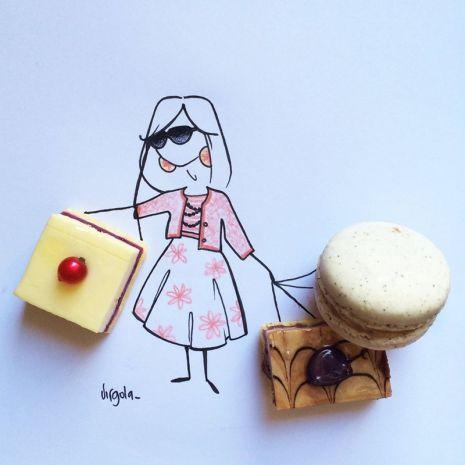 I dolcetti sono i pacchettini di una shopaholic  Virgola by Virginia Di Giorgio